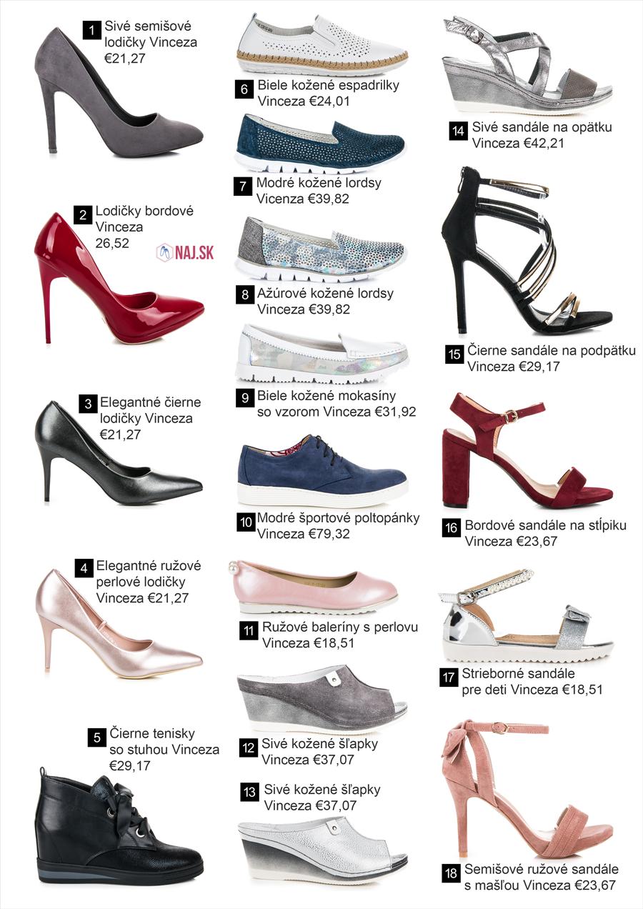 68b55eb83178 Nová jarná kolekcia obuvi Vinceza