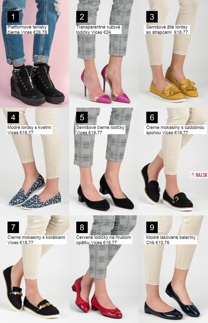 de527a7e2b4c Nové topánky z jarnej kolekcie obuvi 2018