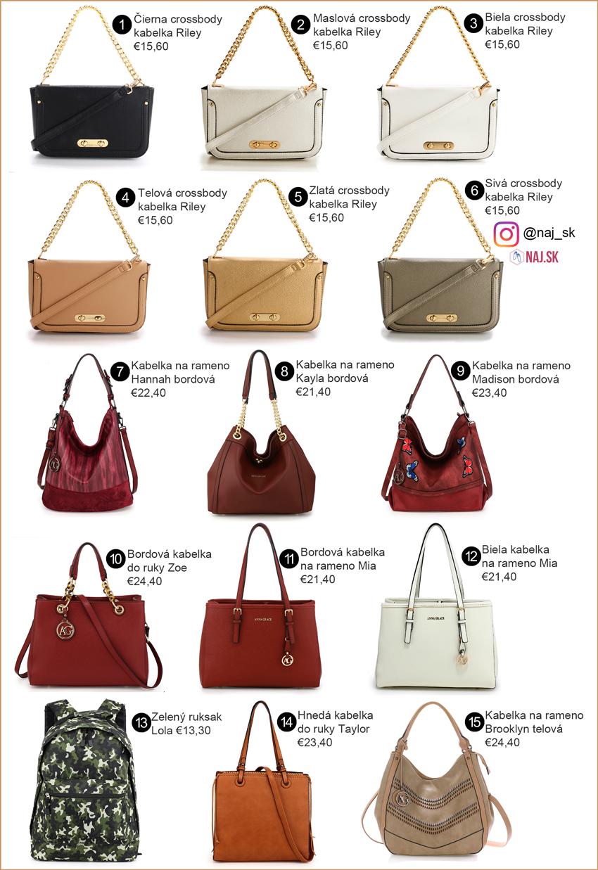 Nové kabelky