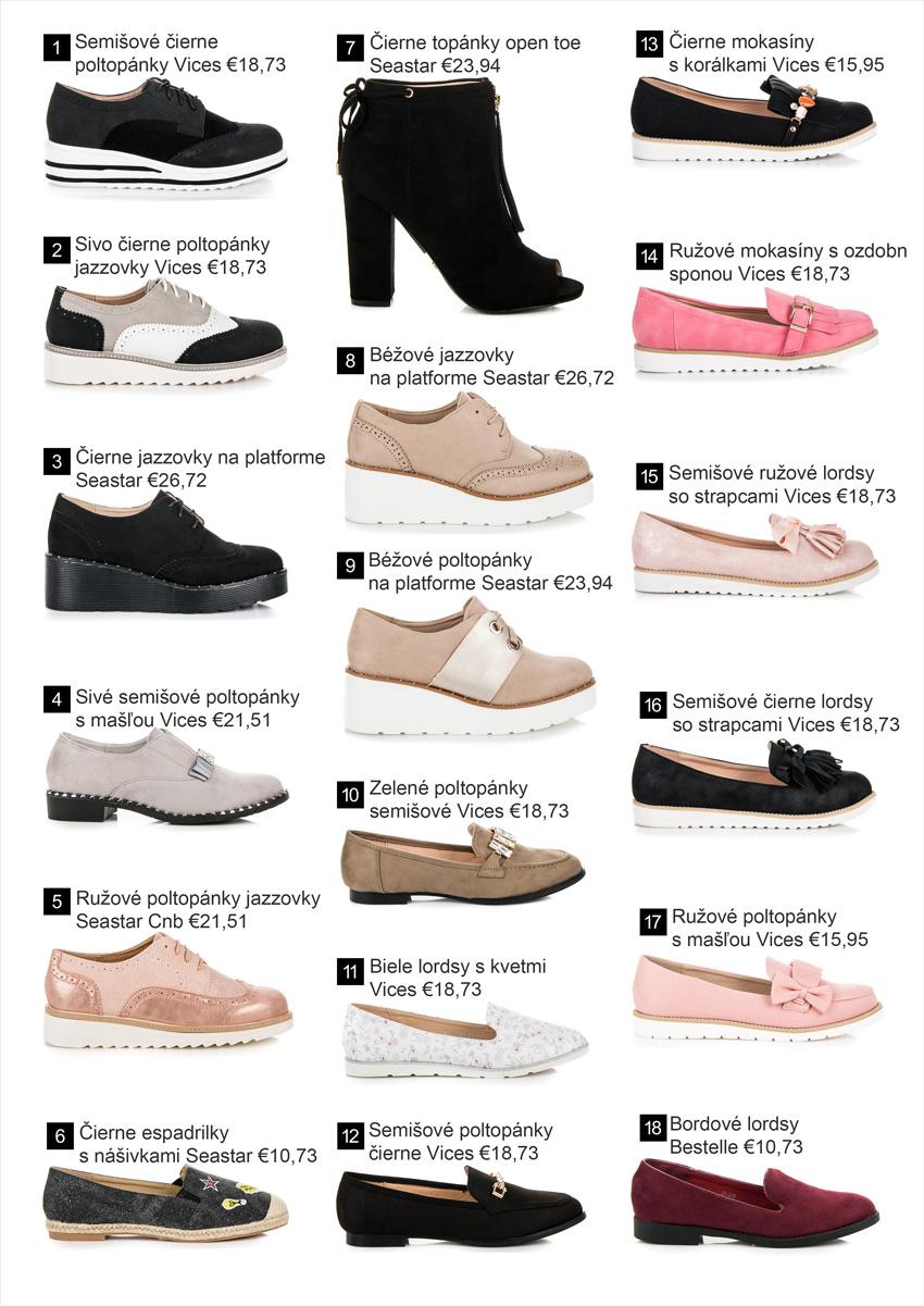 8eeb4387821f Poltopánky - Kolekcia obuvi jar leto 2018