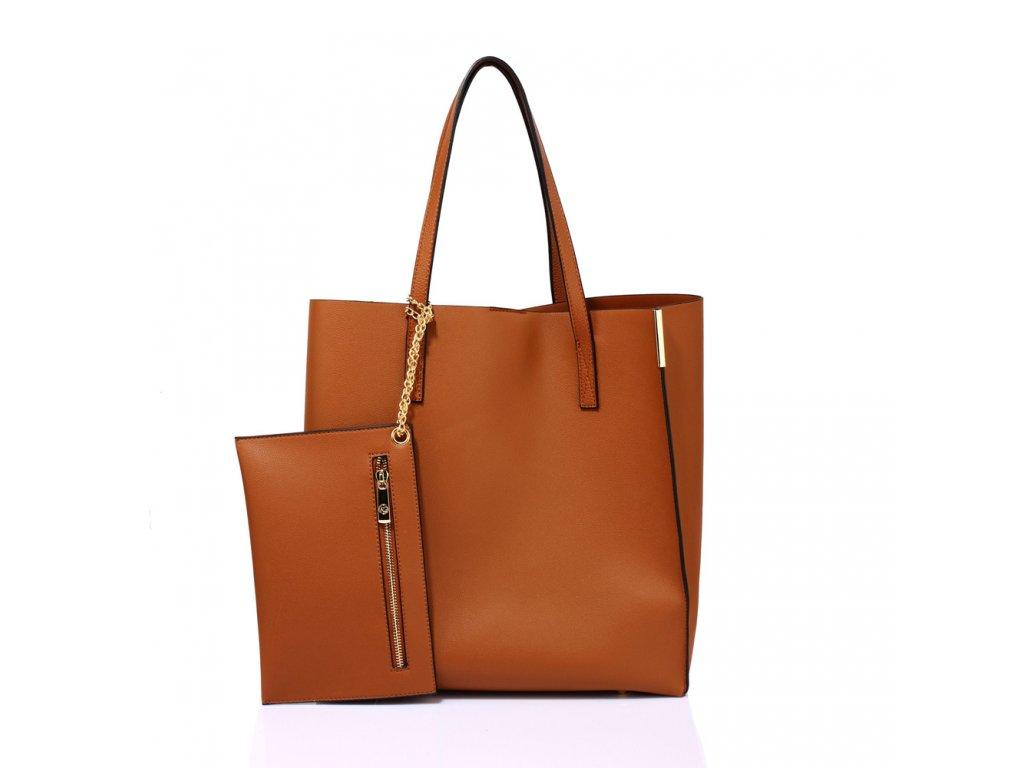 Jednofarebné matné kabelky na rameno