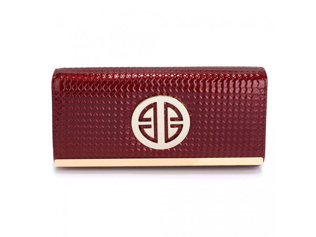 Lesklé peňaženky s ozdobou