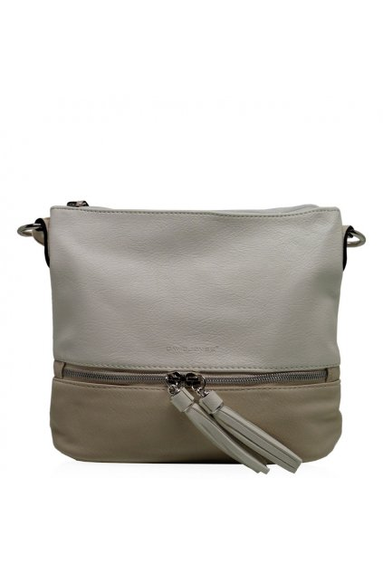 Crossbody kabelka David jones biela 3805-1