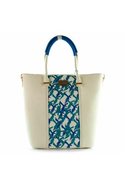 Shopper kabelka  Monnari Bielo modrá 2150 0911-01