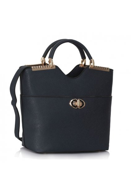 Shopper kabelka do ruky Annabel námornícka LS0074A