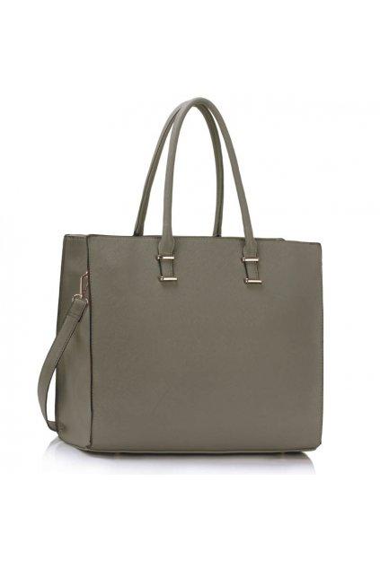 Shopper kabelka do ruky Monica sivá LS00319