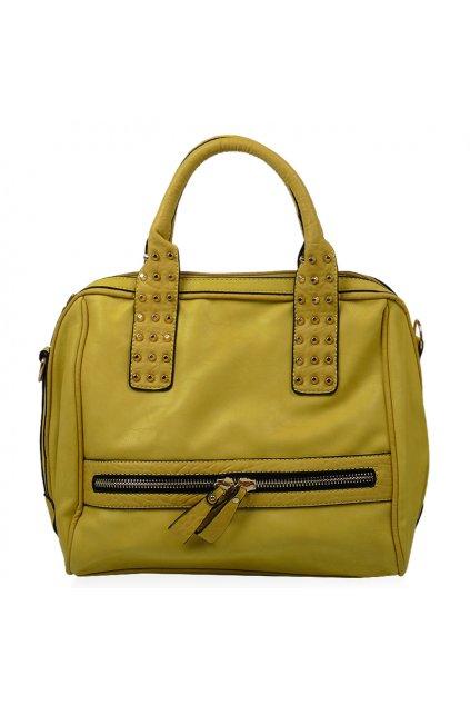 Shopper kabelka YIFENG žltá yf-8191