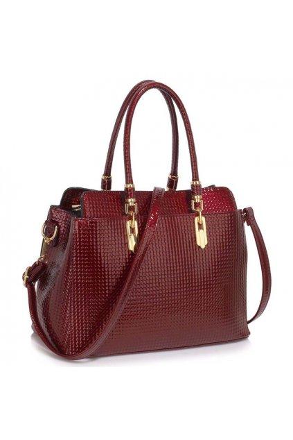 Trendová kabelka do ruky Adele bordová LS00418A