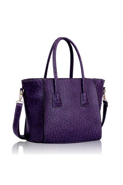 Trendová kabelka do ruky Freda fialová LS00234