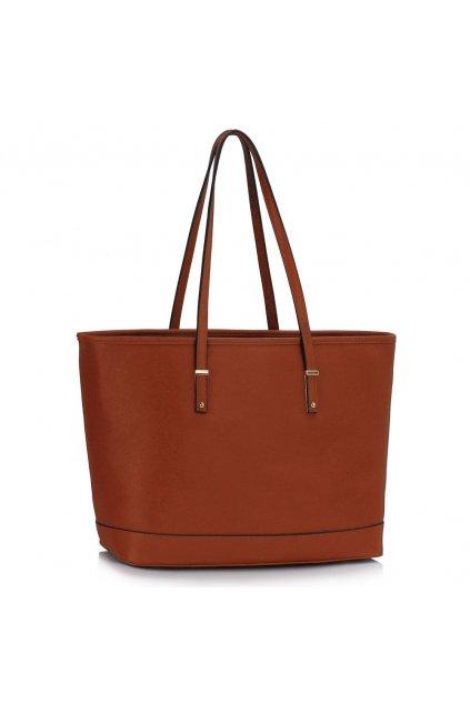 Trendová kabelka Dora hnedá LS00494