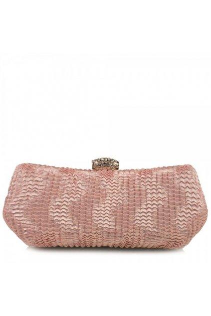 Večerná clutch kabelka Riccaldi ružová MQ0959
