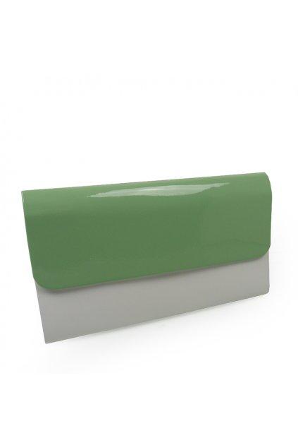 Večerná kabelka Riccaldi 1611 Bielo-zelená