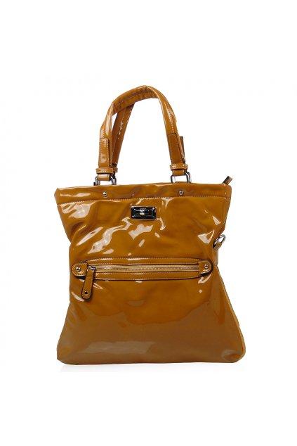 Žltá kabelka Castella 21a-337
