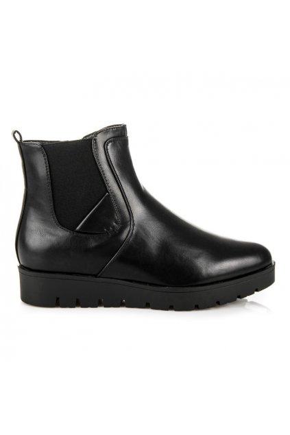 Členkové topánky na platforme 2070B