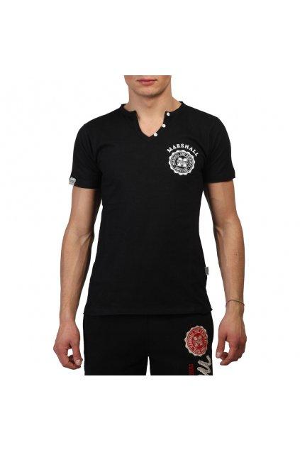 Pánske tričko Marshall Original čierne (Veľkosť S,)