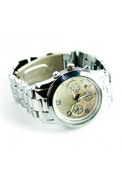 Strieborné hodinky