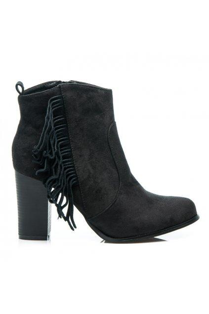Topánky so strapcami - BOHO veľ.č. 38, 39 (Veľkosť UK6 / EUR 39)