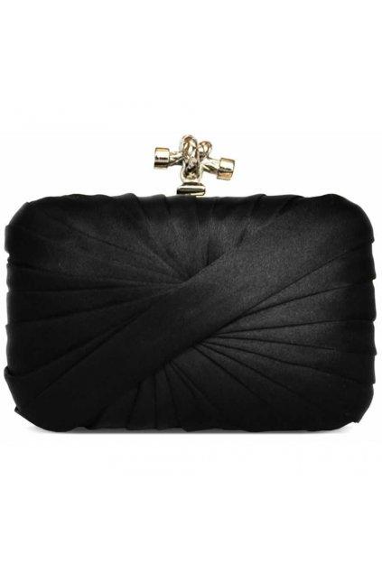Čierna spoločenská kabelka LSE0030