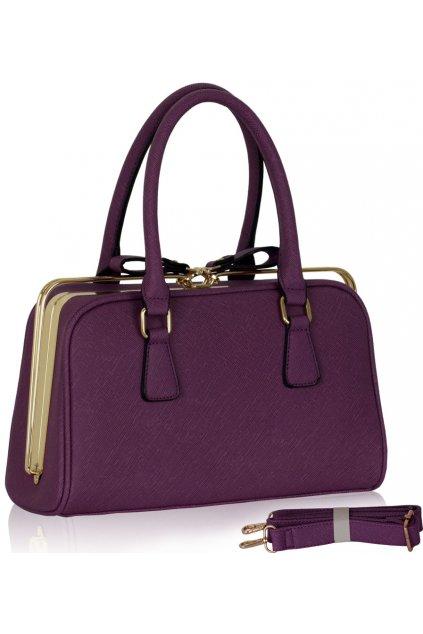 Fialová kabelka Darlene LS00311