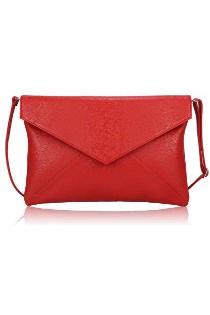 Listová kabelka červená LSE00220