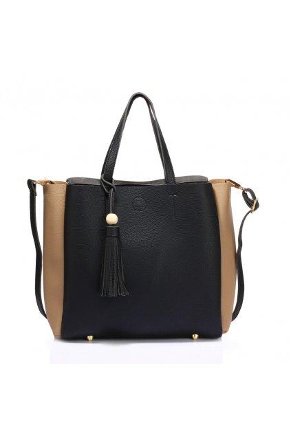 Čierno telová kabelka na rameno Annie AG00550