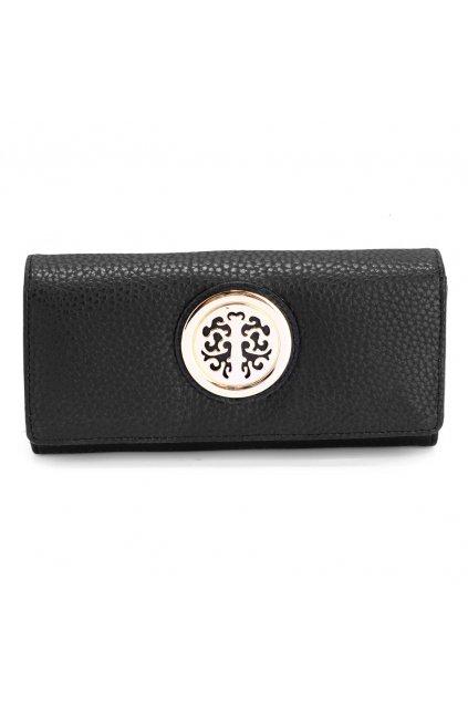 Čierna peňaženka Carline LSP1039A