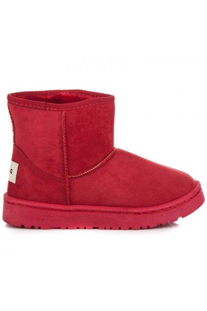 Dámske červené snehule Lisa FC226R