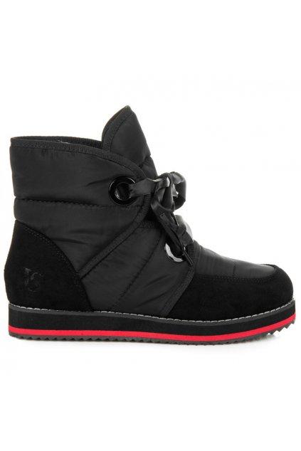 Čierne snehule Lybra 9079-1B