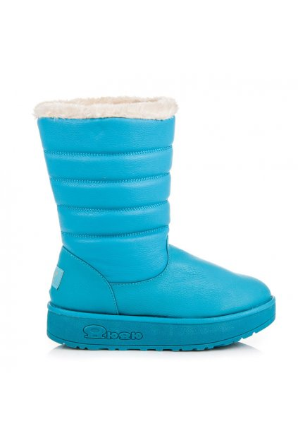 Modré snehule Milena 858BL