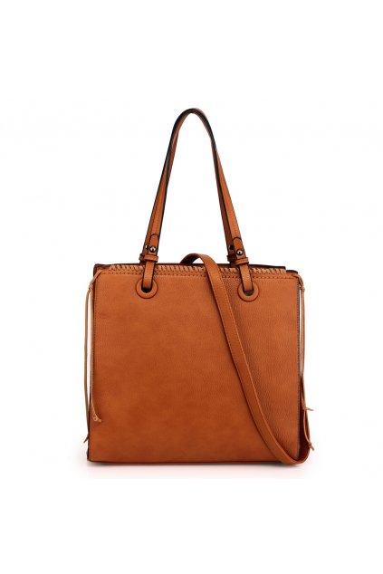 Hnedá kabelka do ruky Taylor AG00558
